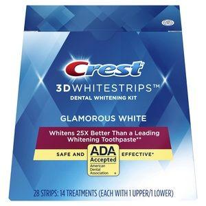 Crest 3D White Whitestrips Glamorous White